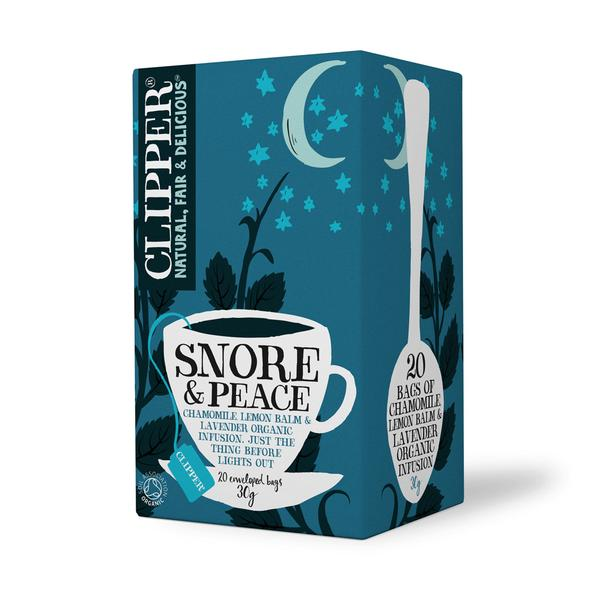 Clipper Tea Snore & Peace- 20 bags