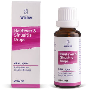 Weleda Hayfever & Sinus Drops 30ml