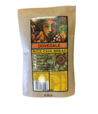 Dovedale Bread Rice Chia 640g