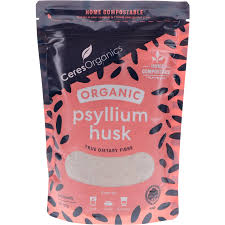 Ceres Psyllium Husk 180g  Home compostable packaging