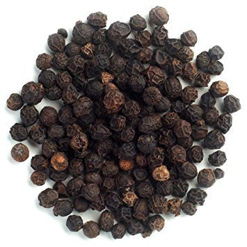 Whole Black Peppercorns 100g- Organic, Pre Packed