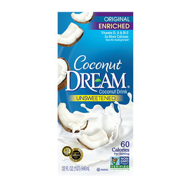 Coconut Dream Coconut Milk- Unsweetened 946ml