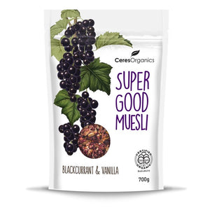Ceres Organics Super Good Muesli, Blackcurrant & Vanilla 700g