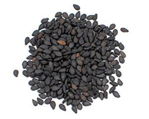 Black Sesame Seeds- Organic, Prepacked