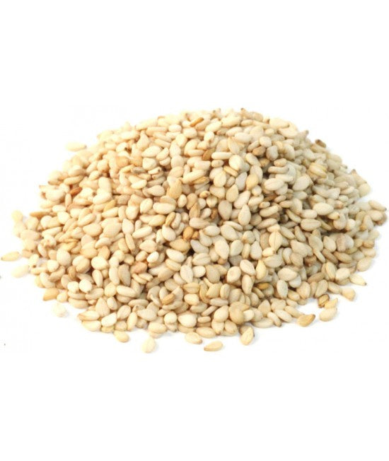 Sesame Seeds Hulled- Organic, Pre Packed 500g