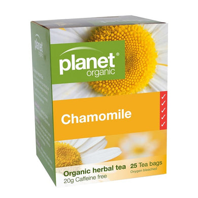 Planet Organic Chamomile Tea- 25 bag