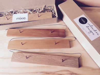 Mixie Wooden Hangers for A3 Calendars