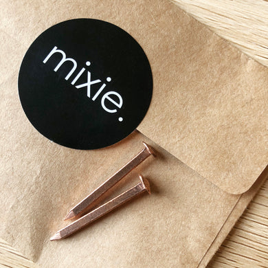 Mixie Copper Nails x2 Pack