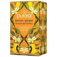 Pukka Organic Lemon, Ginger & Manuka Honey Tea