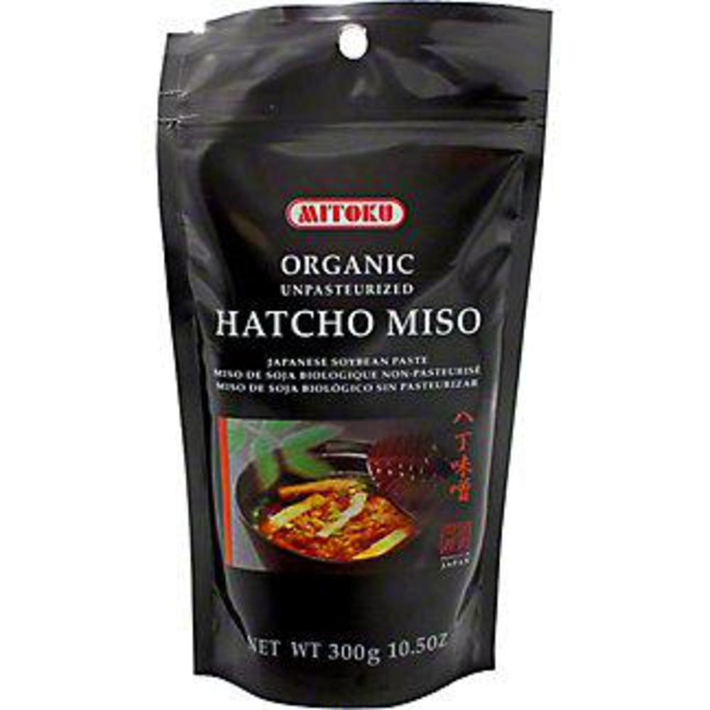 Mitoku Miso Hatcho Zip Lock Bag (Unpasteurised) 300g