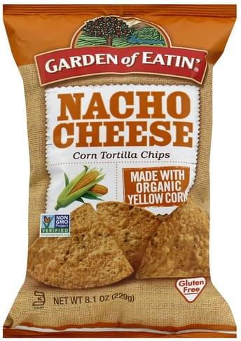 Garden of Eatin Corn Chips- Nacho Cheese 229g