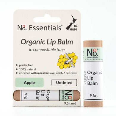 No 8 Essentials Organic Lip Balm 9.5g - Apple