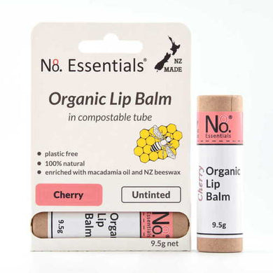No 8 Essentials Organic Lip Balm 9.5g - Cherry