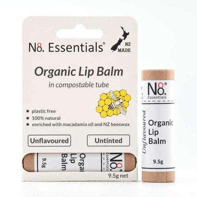 No.8 Organic Lip Balm Unflavoured & Untinted 9.5g