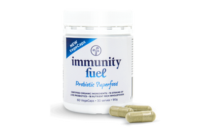 Immunity Fuel Original Probiotic Superfood - 60 VegeCaps