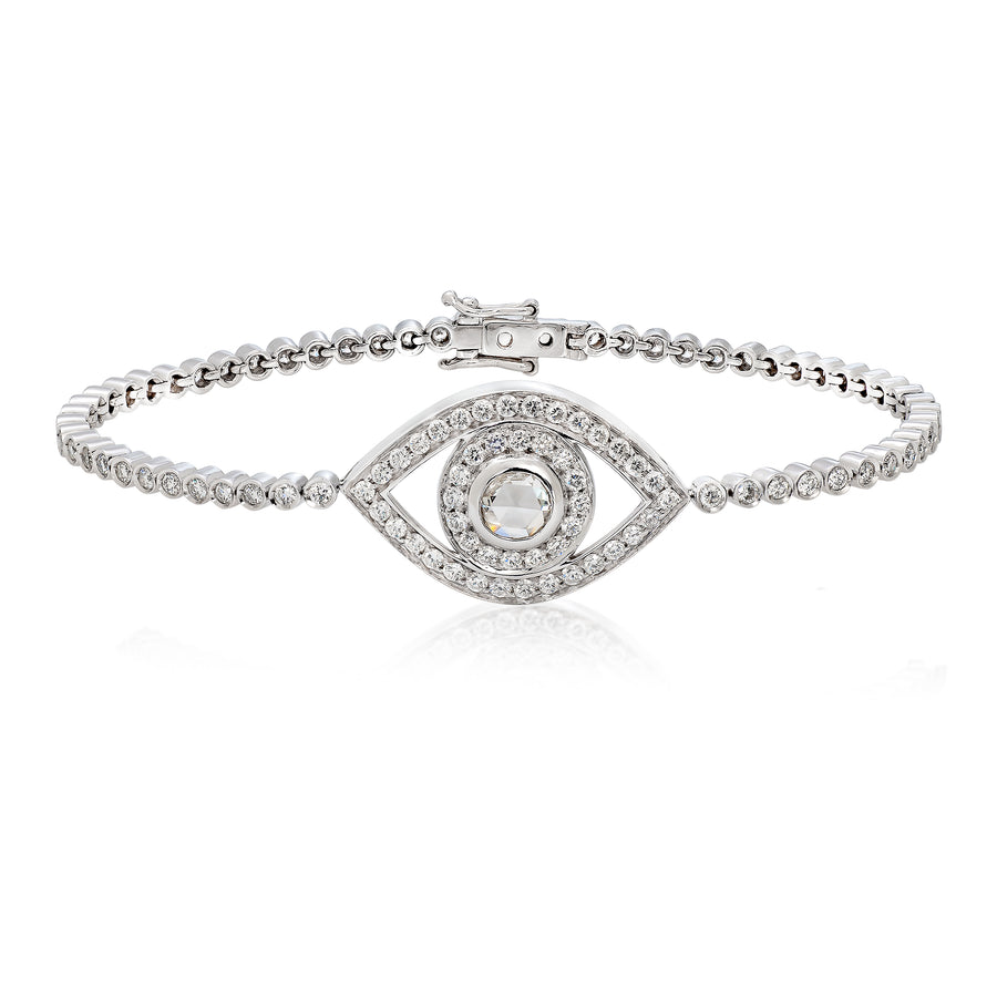 Big Eye Tennis Bracelet