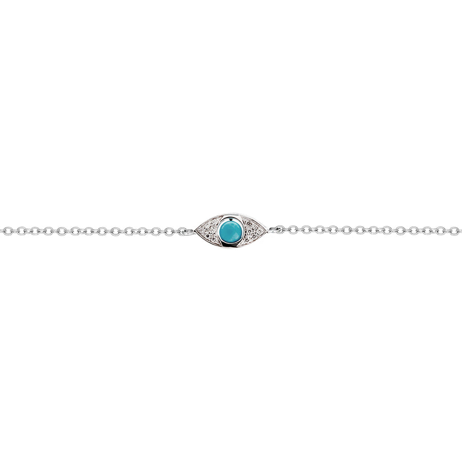 1 Eye Pavè Diamonds Bracelet