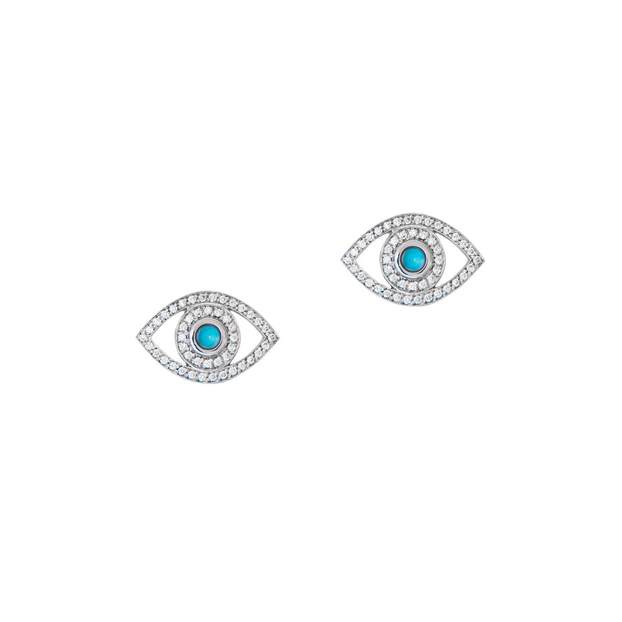 Mini Eye Earrings