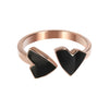 Mini Hearts Ring