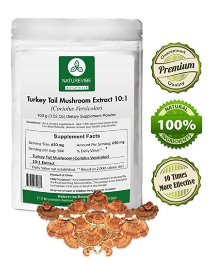 Turkey Tail Mushroom Extract Powder 10:1
