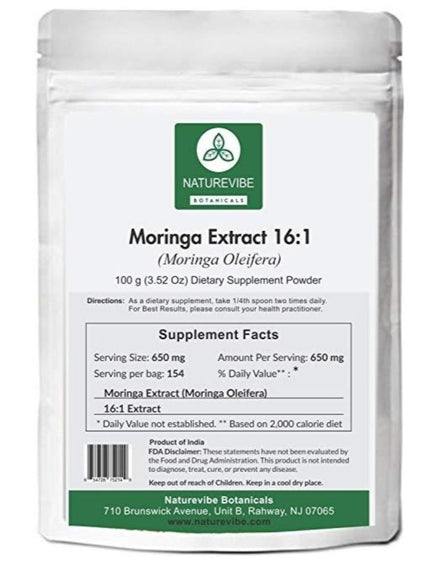 Moringa Leaf Extract 16:1