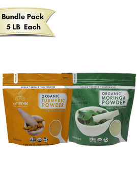 Moringa & Turmeric powder Bundle