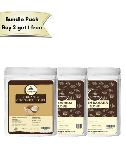Healthy flour bundle 2 - Buy 2 get 1 free