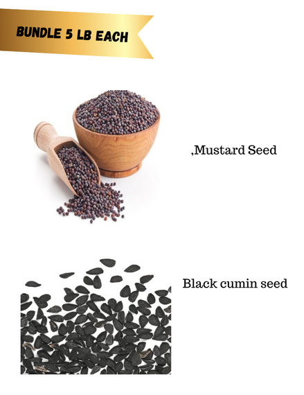 Spice seed bundle 17