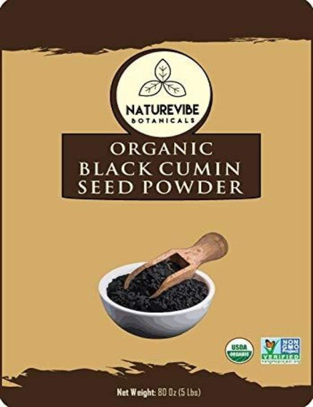 Organic Black Cumin Seed Ground
