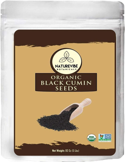 Organic Black Cumin Seed Whole