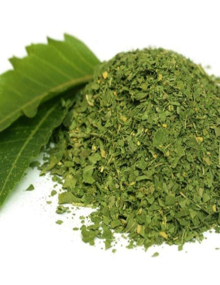Dried Neem Leaves Whole (Bulk Bag)