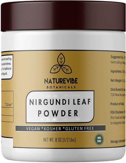 Nirgundi Leaf Powder