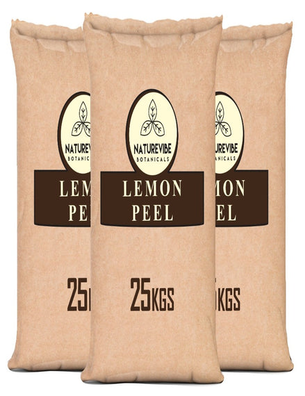 Lemon Peel Powder (Bulk Bag)