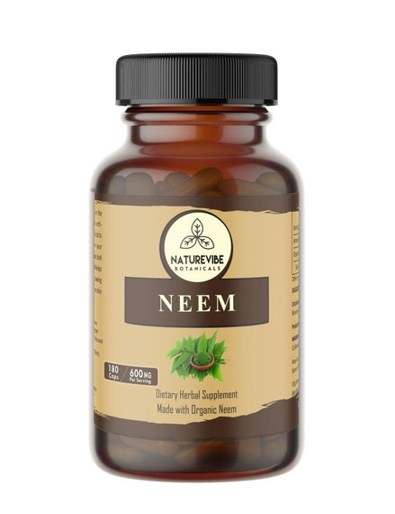 Neem Leaf Powder Capsules