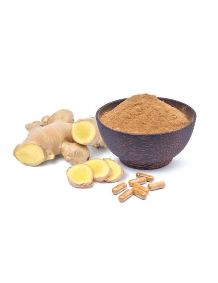 Organic Ginger Root Powder Capsules