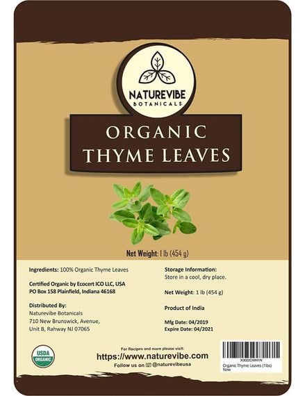 Organic Thyme Leaves