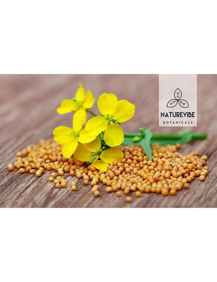 Organic Yellow Mustard Seeds