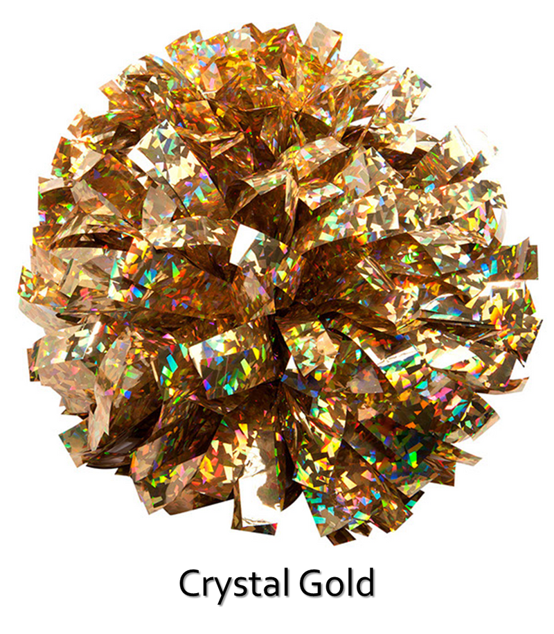 Holographic Cheer Poms
