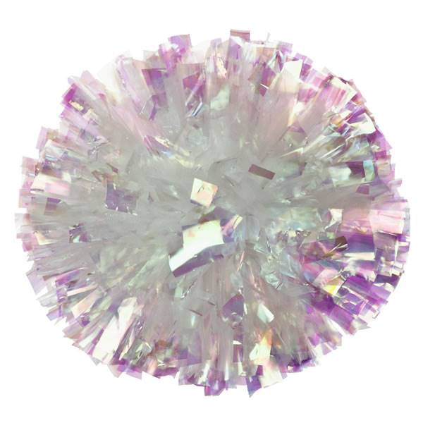 Iridescent/Plastic Mixed Material Cheer Poms