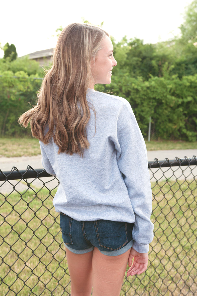 Ombre Girly Sweatshirt