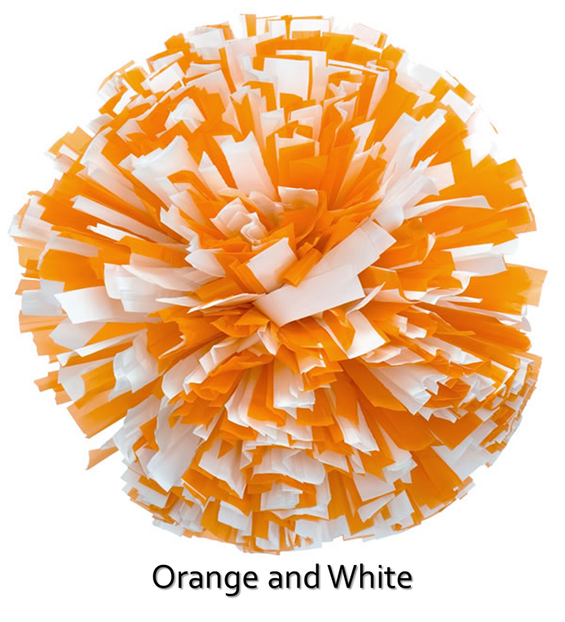 In-Stock Two/Three Color Plastic Cheer Poms