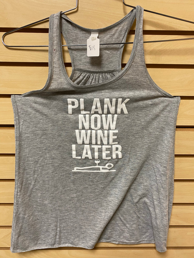 Plank Now, Wine Later