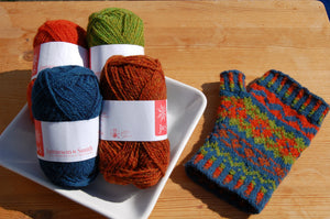 Fair Isle Mitt Kit