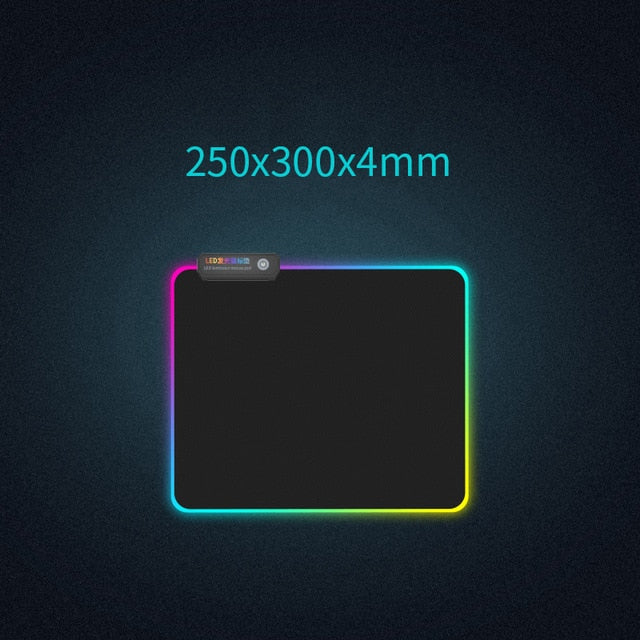 RGB Luminous Gaming Mouse Pad