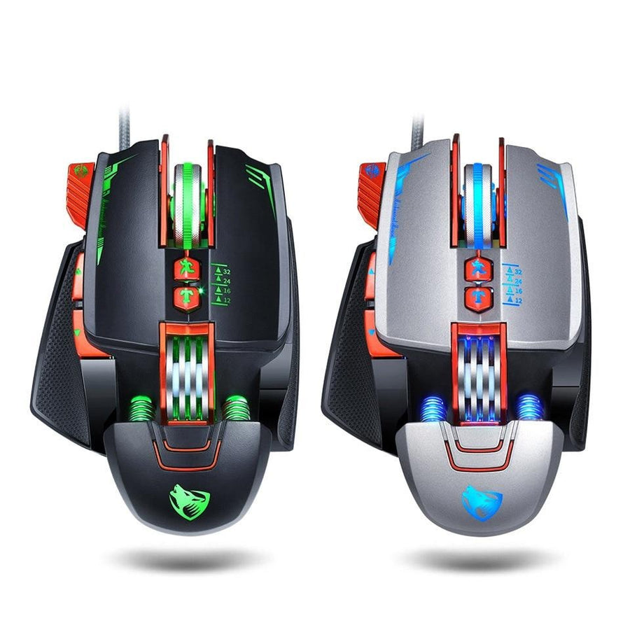 USB Wired Programmable Gaming Mouse