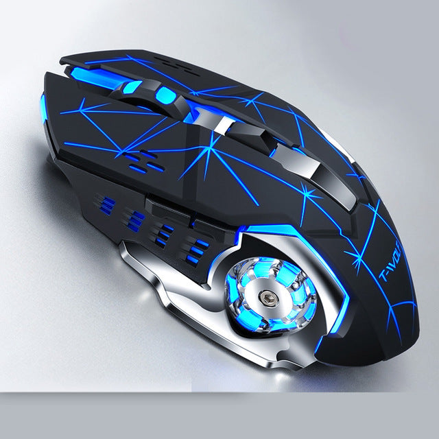 Rechargeable Wireless Ergonomic Gaming Mouse