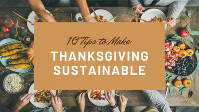 10 Tips to Make Thanksgiving Sustainable