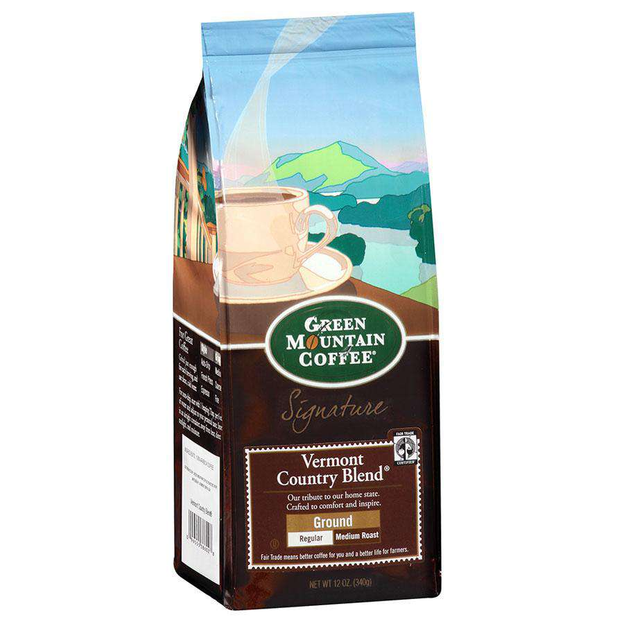 Green Mountain Coffee Roasters Vermont Country Blend Ground Coffee 12 oz. - Shop Salvos