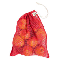 "Load image into Gallery viewer, Drawstring Net Reusable Bags 12"" x 15"" - Shop Salvos"