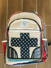 Load image into Gallery viewer, Hemp Backpack
